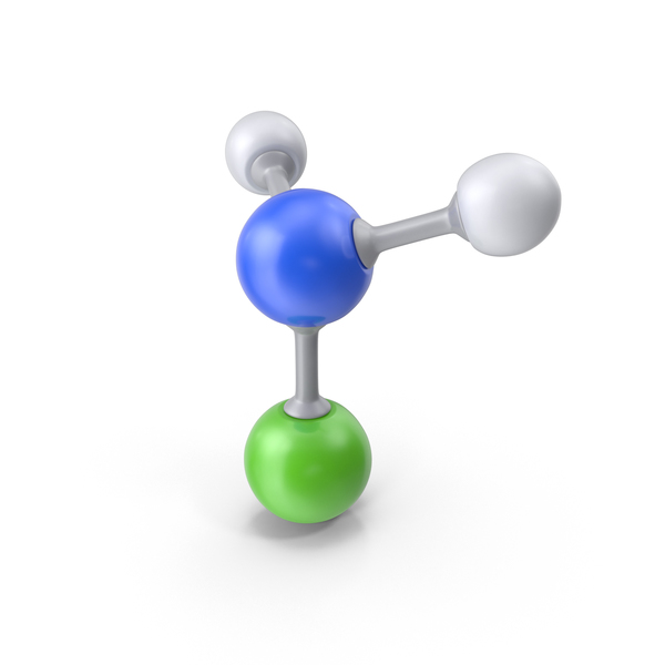 Chloramine Molecule PNG & PSD Images