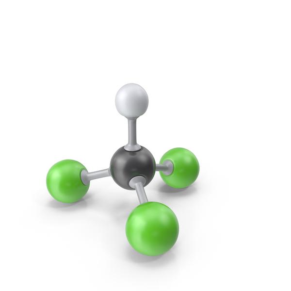 Chloroform Molecule PNG & PSD Images