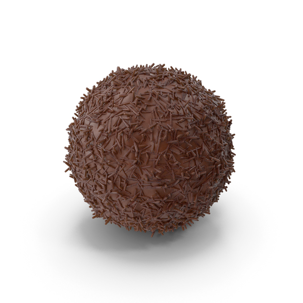 Chocolate Ball with Chocolate Pops PNG & PSD Images