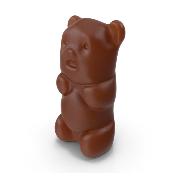 Chocolate Bear Candy PNG & PSD Images