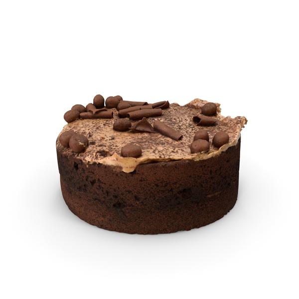 Chocolate Caramel Cake PNG & PSD Images