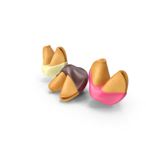 Cookie: Chocolate Covered Fortune Cookies PNG & PSD Images