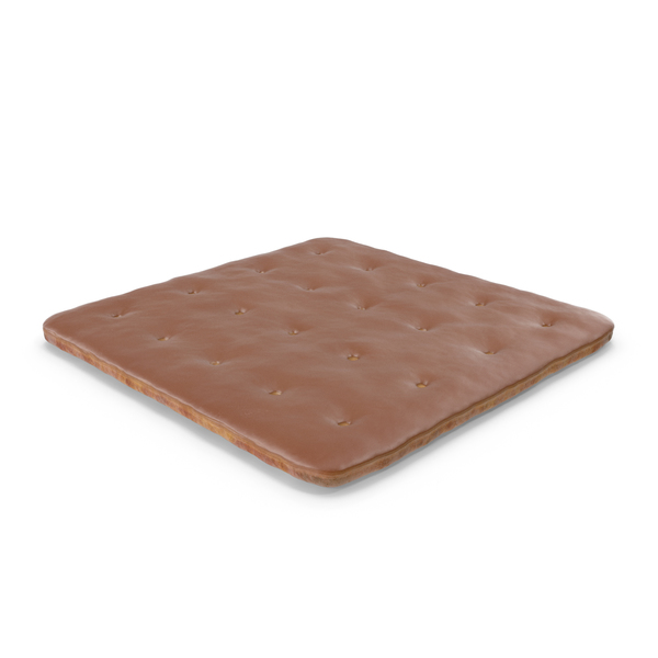 Chocolate Covered Square Cracker PNG & PSD Images