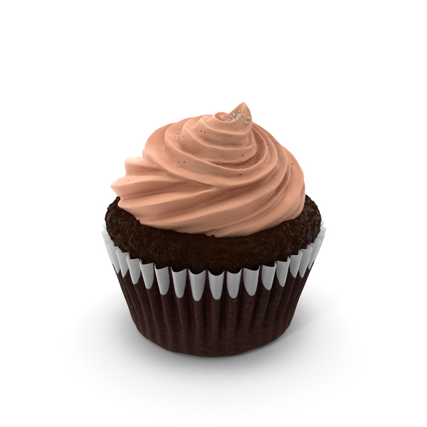 Chocolate Cupcake PNG & PSD Images