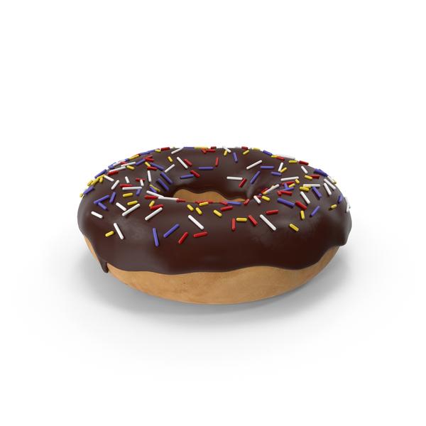 Donut: Chocolate Doughnut PNG & PSD Images