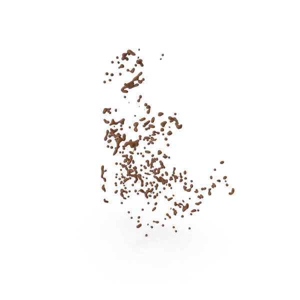 Chocolate Drops PNG & PSD Images