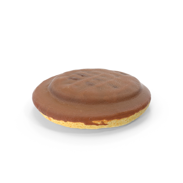 Chocolate Jaffa Cake with Raspberry Jelly PNG & PSD Images