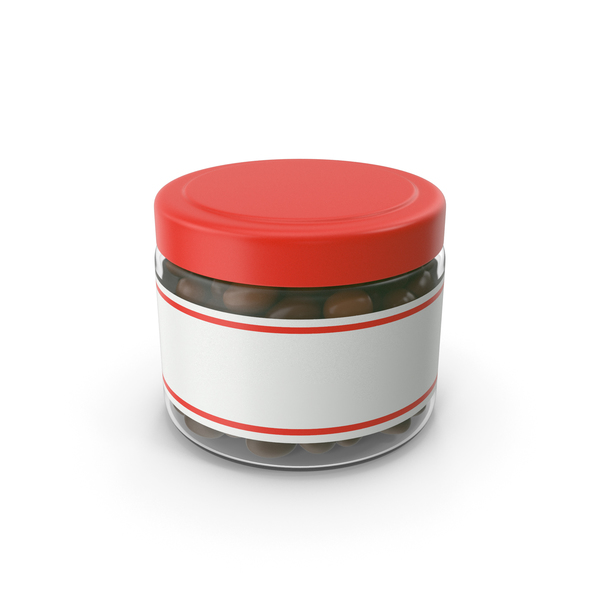 Chocolate Peanuts Candy Jar PNG & PSD Images