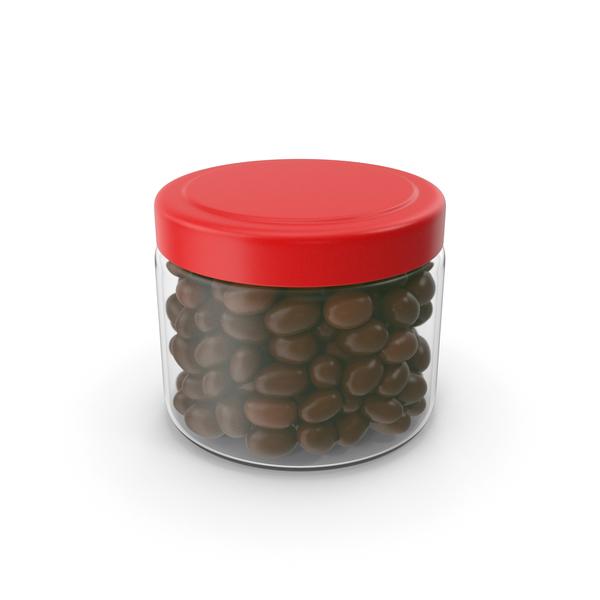 Chocolate Peanuts Jar No Label PNG & PSD Images