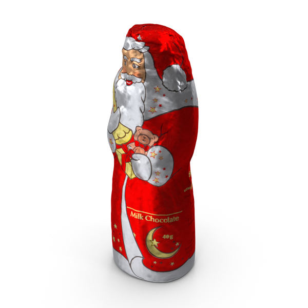 Chocolate Santa PNG & PSD Images