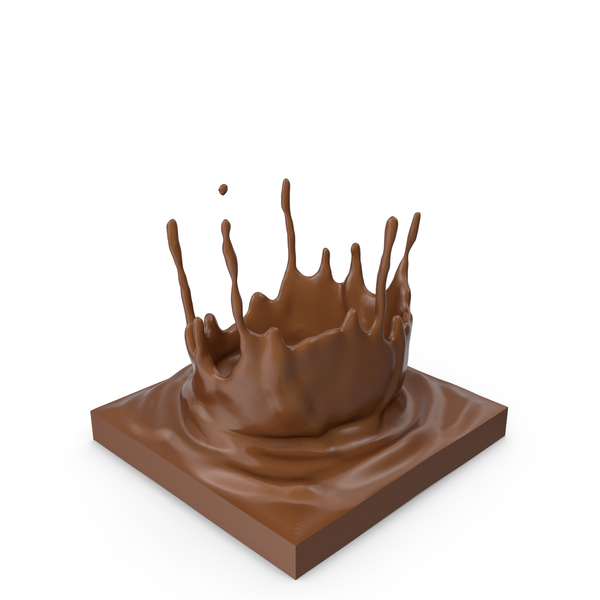 Chocolate Splash PNG & PSD Images