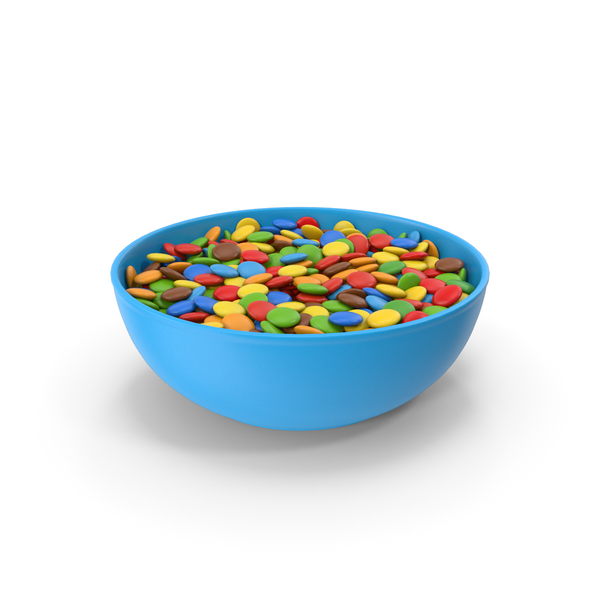 Chocolate Sweets in Bowl PNG & PSD Images