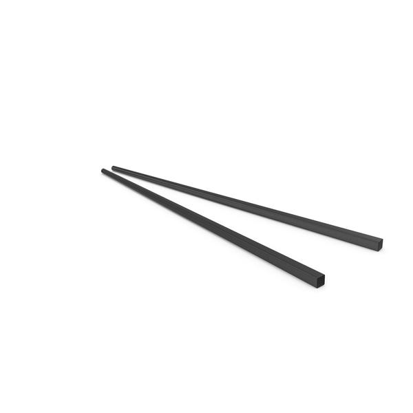 Bowl: Chopsticks Black PNG & PSD Images