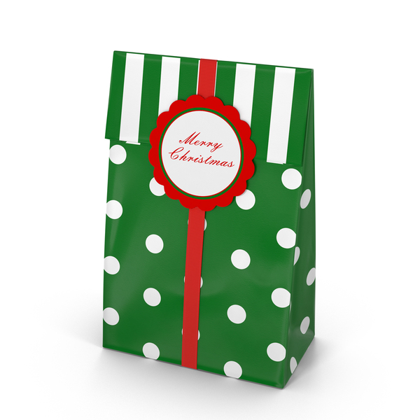 Gift: Christmas Bag PNG & PSD Images
