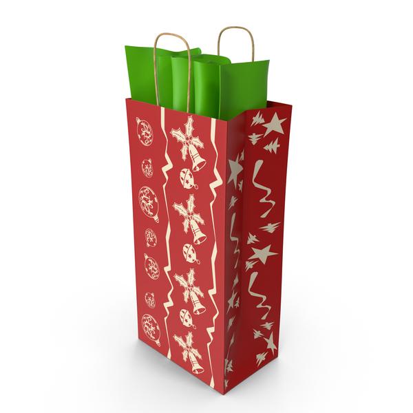 Gift: Christmas Bag PNG & PSD Images