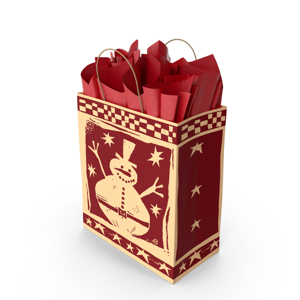 Christmas Bag PNG & PSD Images