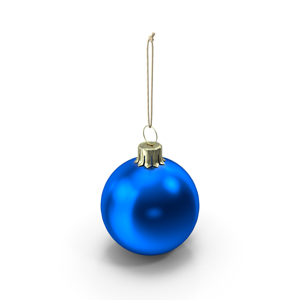 Christmas Ball Blue PNG & PSD Images