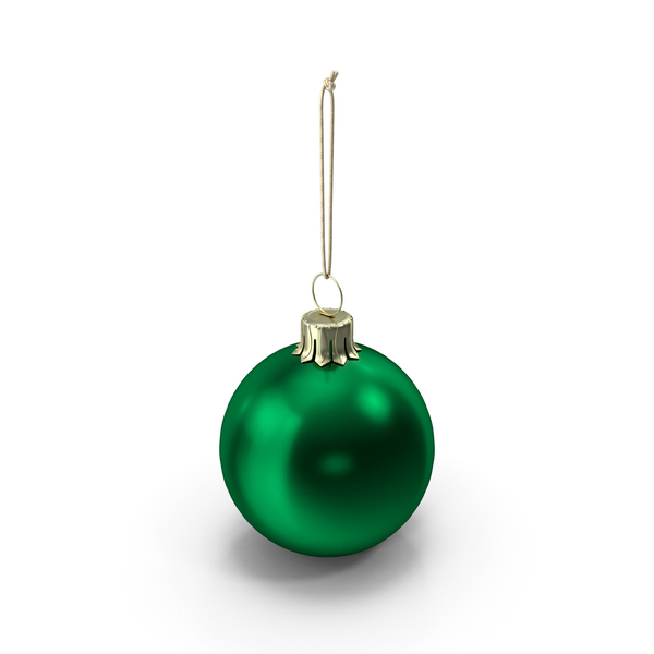 Christmas Ball Green PNG & PSD Images