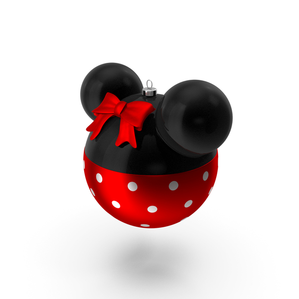 Christmas Ball Minnie PNG & PSD Images