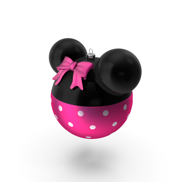 Christmas Ball Minnie Version PNG & PSD Images