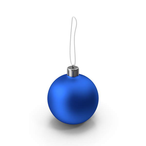 Christmas Blue Ball PNG & PSD Images