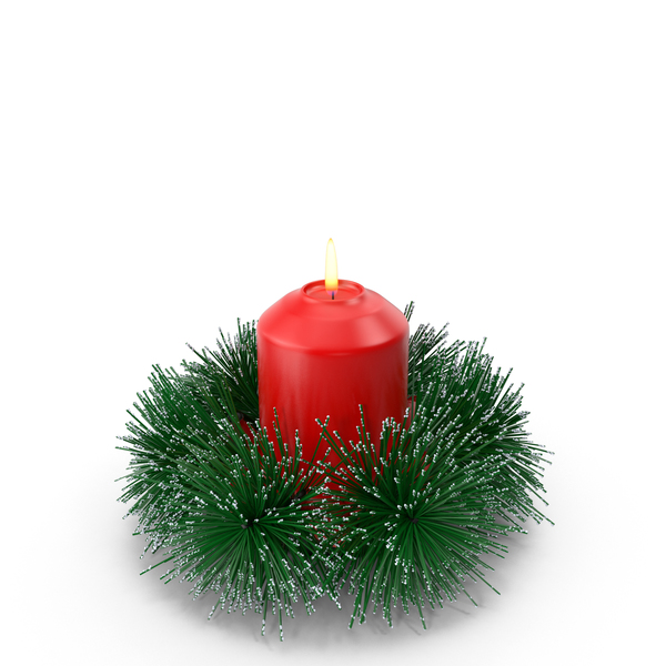 Christmas Candle PNG & PSD Images