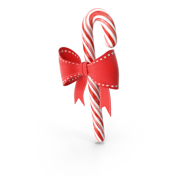 Christmas Candy Cane PNG & PSD Images