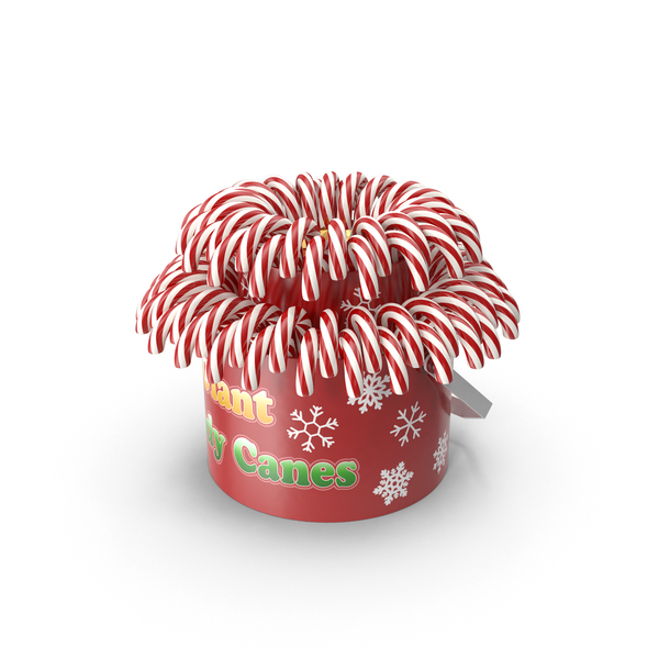Christmas Candy Canes PNG & PSD Images