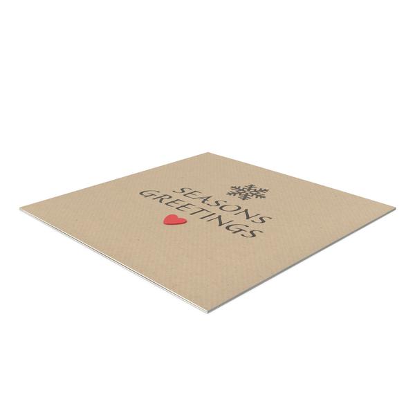 Christmas Card Object