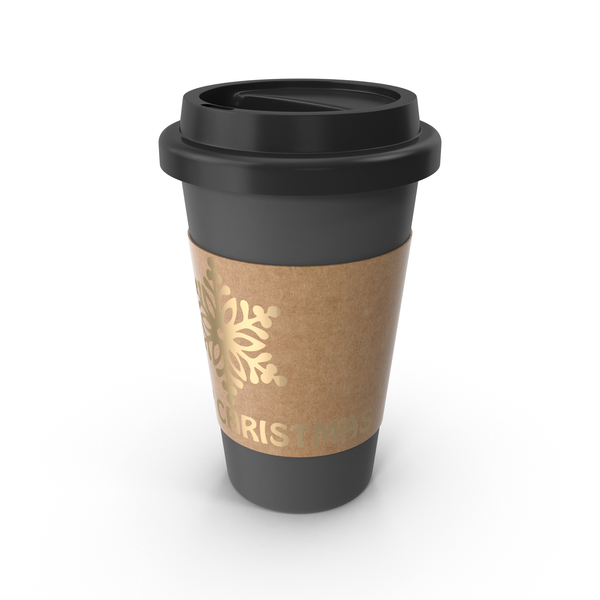 Paper: Christmas Coffee Cup PNG & PSD Images