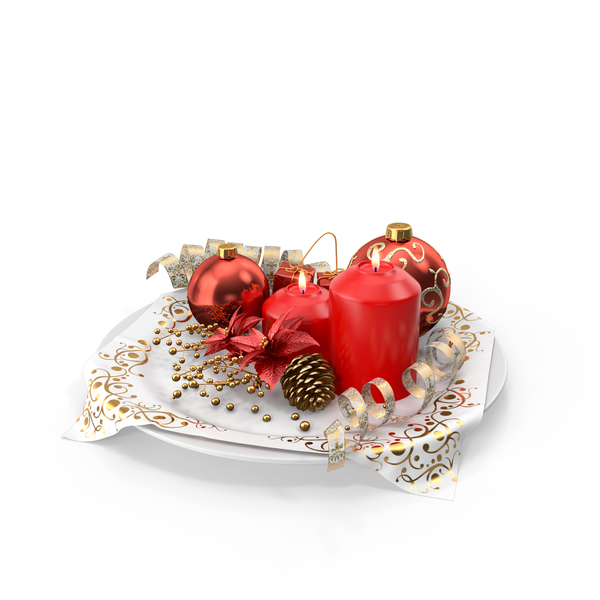 Christmas Decorations PNG & PSD Images