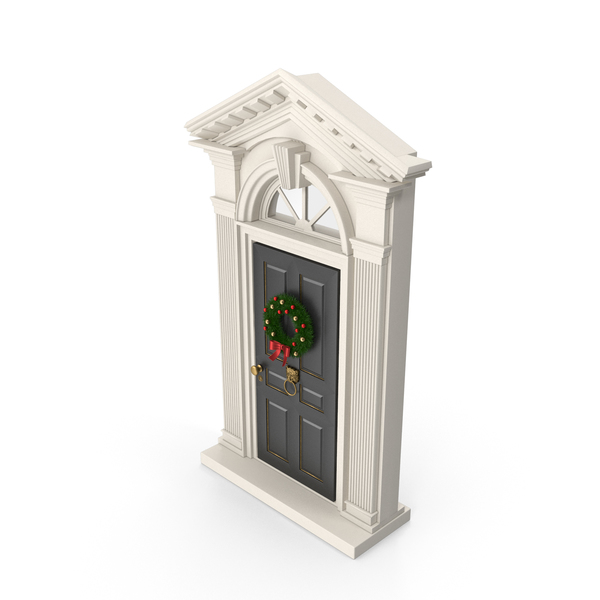Christmas Door PNG & PSD Images