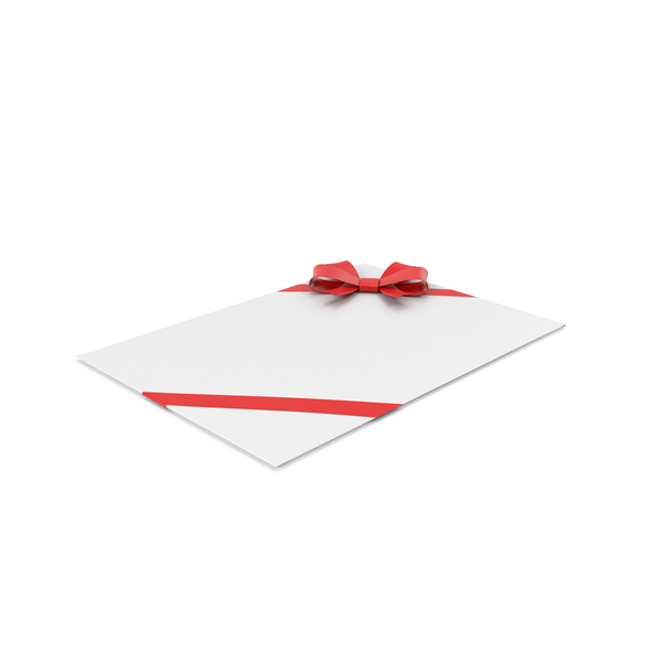 Card: Christmas Envelope PNG & PSD Images