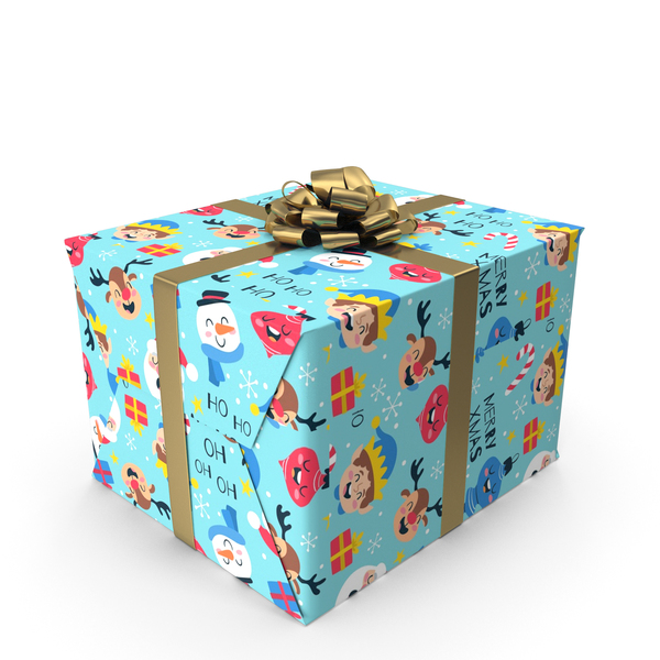 Basket: Christmas Gift Box PNG & PSD Images