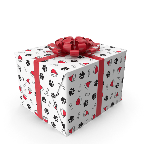 Wrapping Paper: Christmas Gift Box PNG & PSD Images