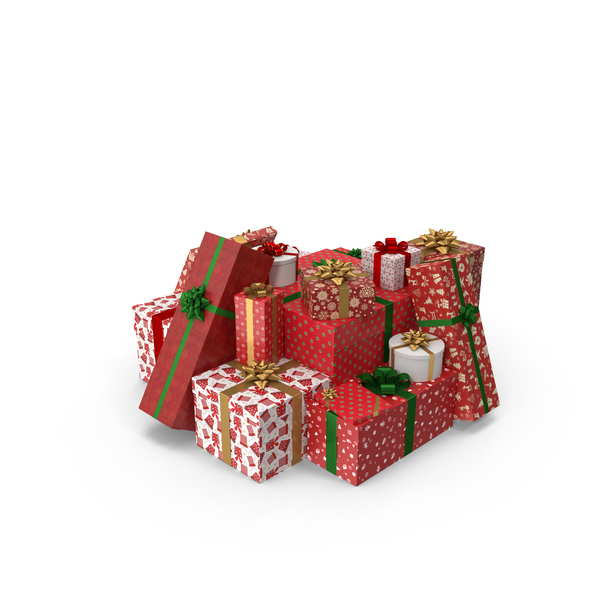 Christmas Gifts PNG & PSD Images