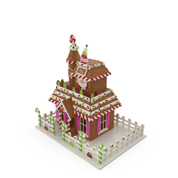 Christmas Gingerbread House PNG & PSD Images