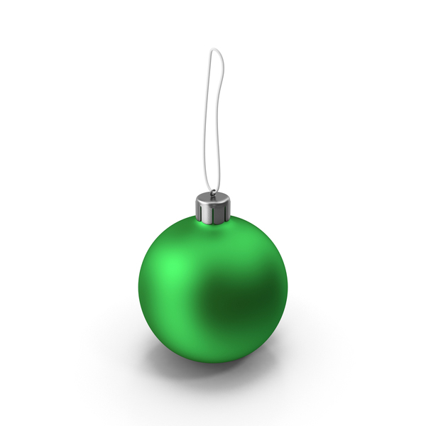 Christmas Green Ball PNG & PSD Images