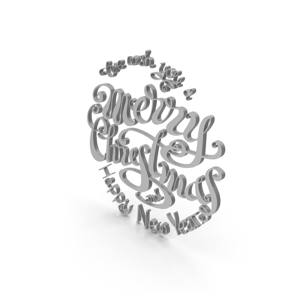 Christmas Lettering PNG & PSD Images