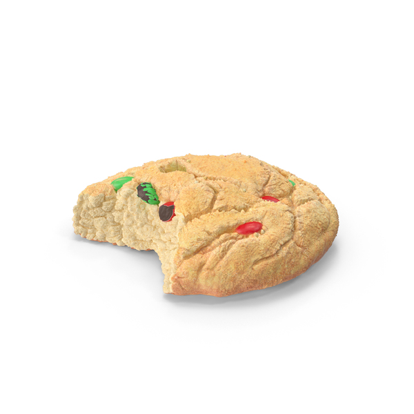 Christmas M&M Cookie PNG & PSD Images