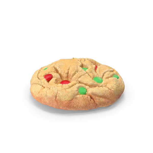 Cookie: Christmas M&M Cookies PNG & PSD Images