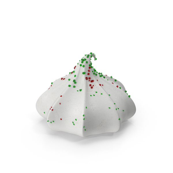 Christmas Meringue Cookies PNG & PSD Images