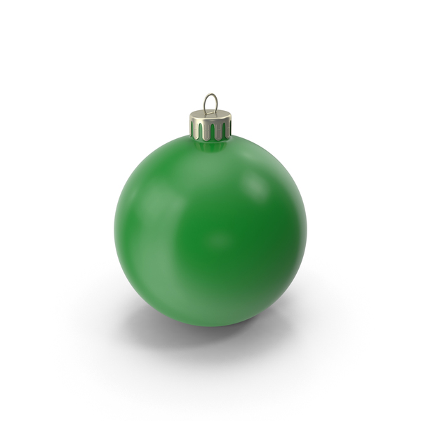 Christmas Ornament Dark Green PNG & PSD Images