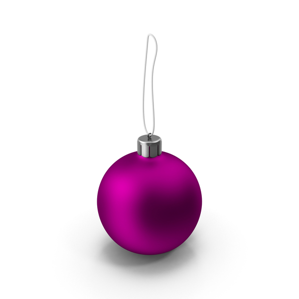 Christmas Purple Ball PNG & PSD Images