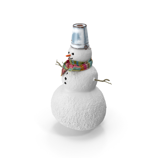 Christmas Snowman PNG & PSD Images