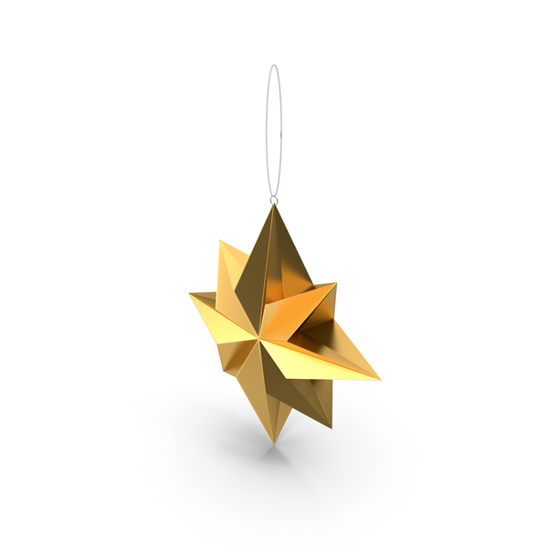 Ornament: Christmas Star PNG & PSD Images