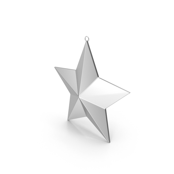 Christmas Star Ornament PNG & PSD Images