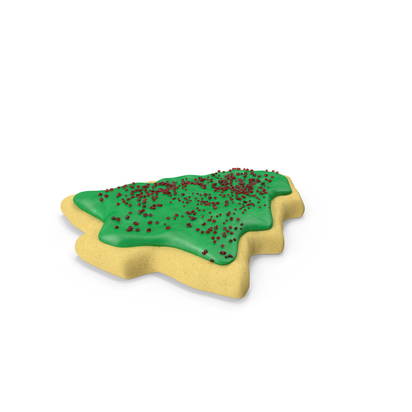 Christmas Tree Cookie PNG & PSD Images