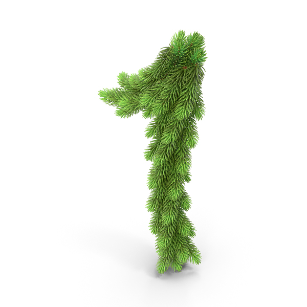 Christmas Tree Garland 1 PNG & PSD Images