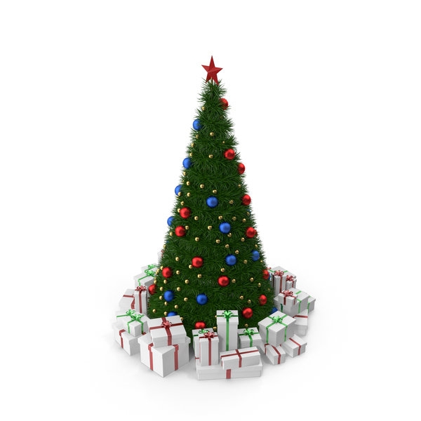 Topper: Christmas Tree PNG & PSD Images